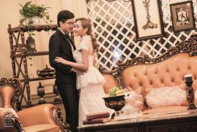 欧式婚纱摄影风——欧美风情