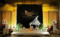 跳跃的音符+创意主题婚礼
