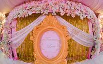 鲜花主题婚礼+樱花下的许诺