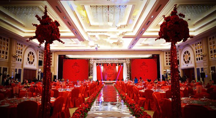长沙中式婚礼布置案例