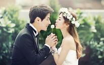 白色恋歌 韩式婚纱照