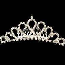 镇店之宝,高雅头饰新娘经典爱心公主皇冠 高档美观