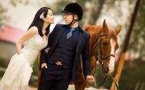 马场婚纱照--客片欣赏