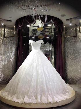 品位婚纱——唯美一字肩系列