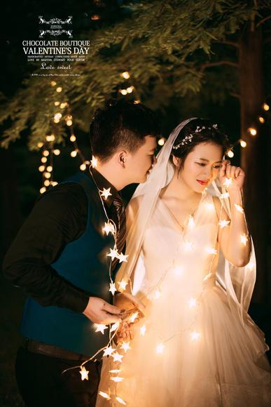 厦门夜景婚纱摄影!给懂得浪漫的你