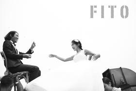 不一样的黑白婚纱照