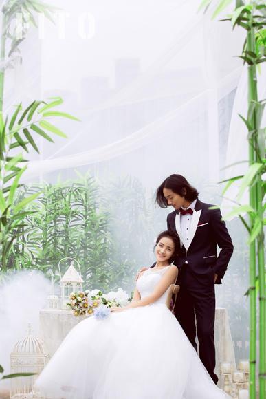 时光清浅 清新婚纱照