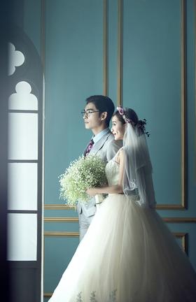 【韩式婚纱照】路过了那么多风景,我只看见了你