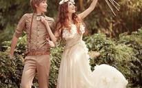 【森系婚纱照】我多么想每一次的美丽,是因为你
