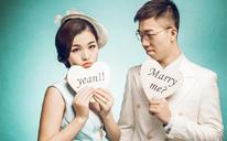 金匠格时尚婚纱客片分享—祝福占小萍&缪云