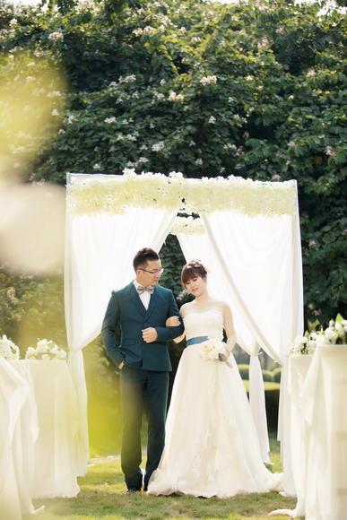 厦门韩国爱慕婚纱摄影客照欣赏——陈先生&王女士