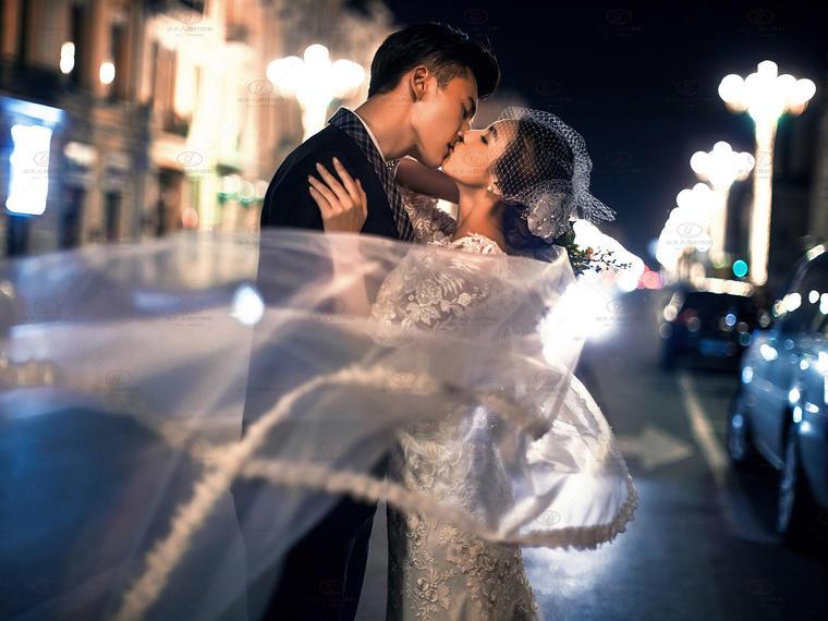 浅念 街拍婚纱照