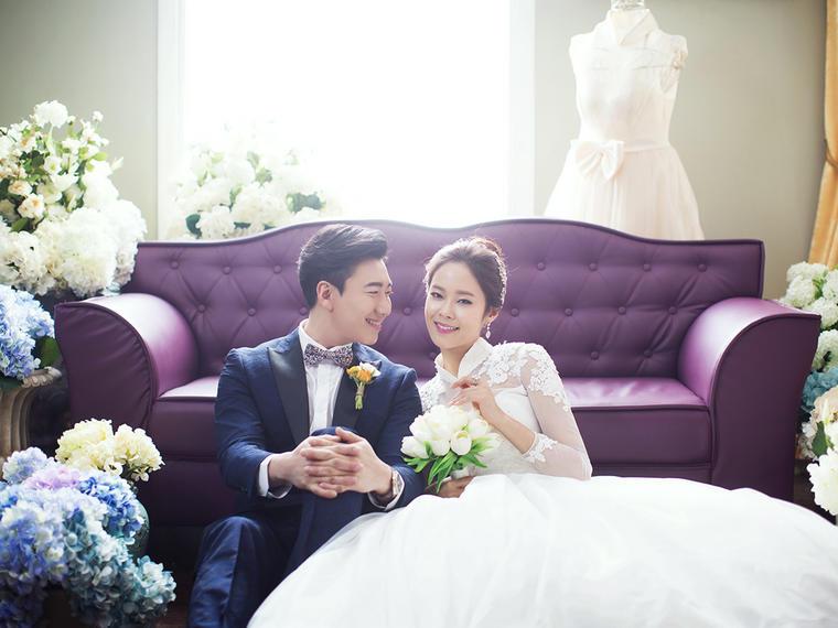 香奈儿花坊 韩式婚纱照