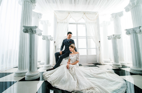 永恒经典罗马风格婚纱照