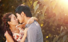 浪漫在微笑 系列婚纱照