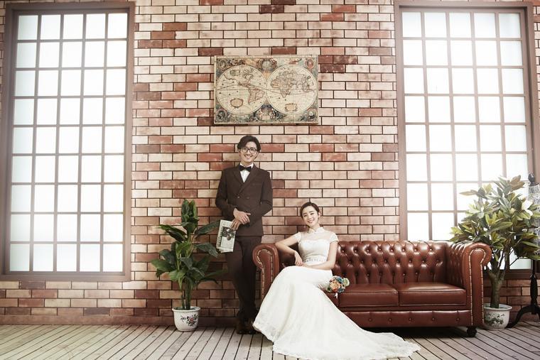 典雅 韩式婚纱照