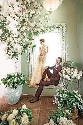 天使的秘密花园~ 欧式婚纱摄影