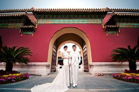《红》故宫婚纱照