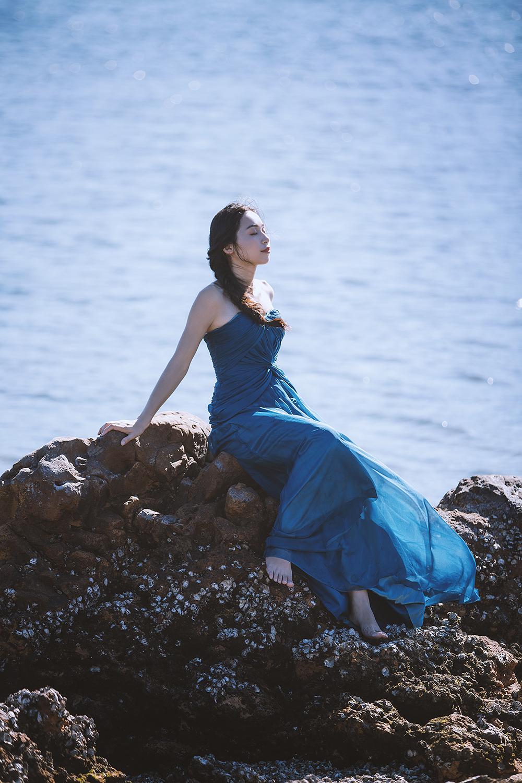 小清新海边婚纱照