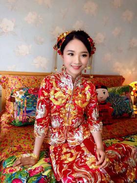小五福中式礼服