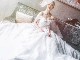 【艾珐婚纱】经典款设计感宫廷系列白纱