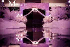 为了遇见你 粉紫色婚礼