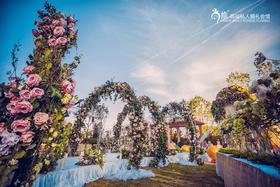 【流连花园】360°精心演绎 户外婚礼秀