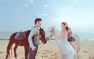【限时特惠】5A海景大小洞天蜜月旅行婚纱