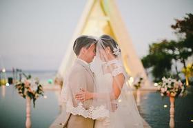 巴厘岛港丽无限教堂大型定制婚礼