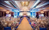深蓝色轻奢婚礼