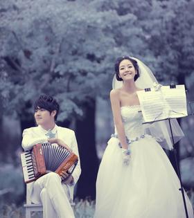 【韩式创意婚纱照】开始爱