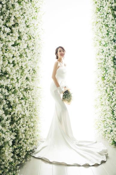 【花海婚纱照】莫奈 花园