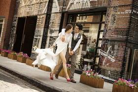 【街拍婚纱照—与你相拥】丨2016样片欣赏