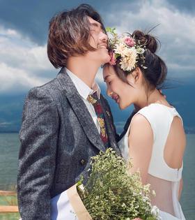 韩式唯美婚纱照