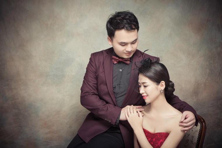 厦门韩国爱慕婚纱摄影客照欣赏——陈先和&陈女士