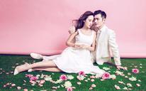 【韩式内景婚纱照】花の旋律