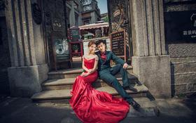 拍客视觉韩式婚纱客照分享