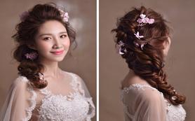 Aisha新娘跟妆 森系风格