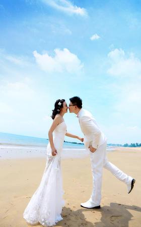 拍客视觉欧式婚纱照客照分享