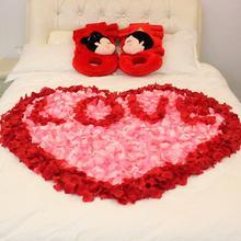 【满29元包邮】婚房布置装饰仿真玫瑰花瓣 手抛假花瓣