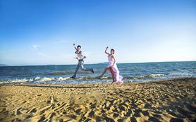 【人气之王】花海游艇马场沙滩畅拍,还可免费拍水下