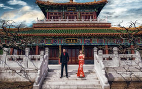 优艺婚纱摄影&中国风
