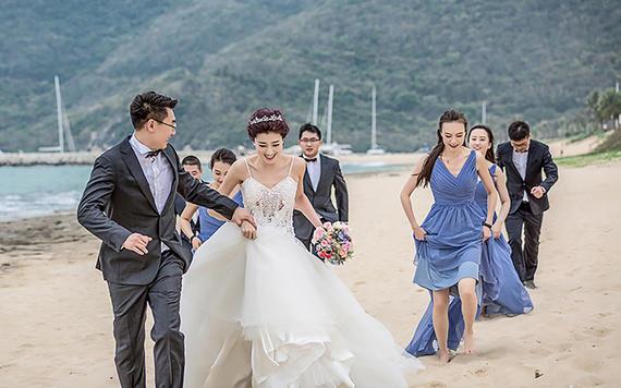 三亚婚礼拍摄(首席摄影师单机位全程拍摄)