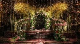 花园 森系主题婚礼