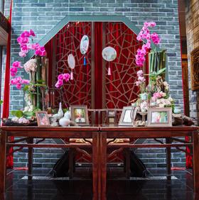 荷塘 微风 月色 中式婚礼