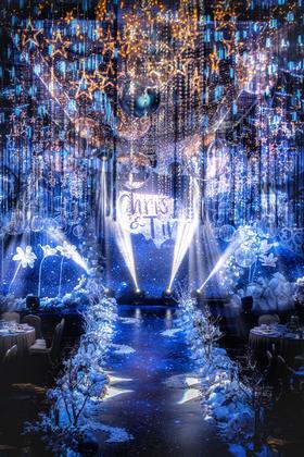 千百合蓝色主题婚礼--《Fantasy Night》