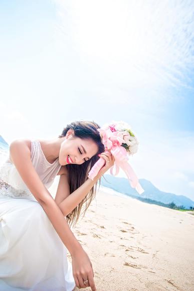 【海景婚纱照】有一种守护叫不离不弃