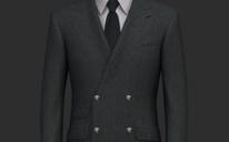 【婚纱礼服】炭灰色商务西装