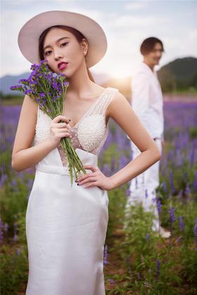 【薰衣草婚纱照】法式田园·Desdemona荻丝梦娜庄园