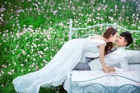 花海主题婚纱照系列